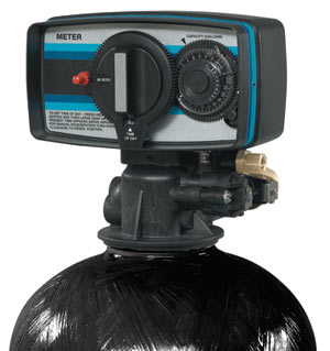 water softener head