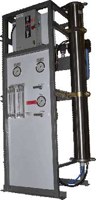 frame mount vertical commercial ro systems
